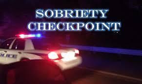 DWI Checkpoint Announcement