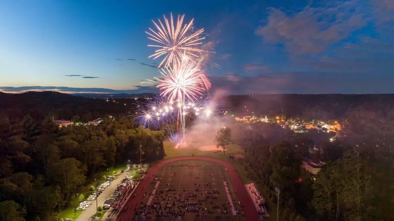 Cedar Grove Annual Fireworks!