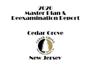 Township of Cedar Grove Master Plan