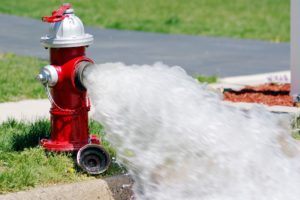 Fall Fire Hydrant Flushing