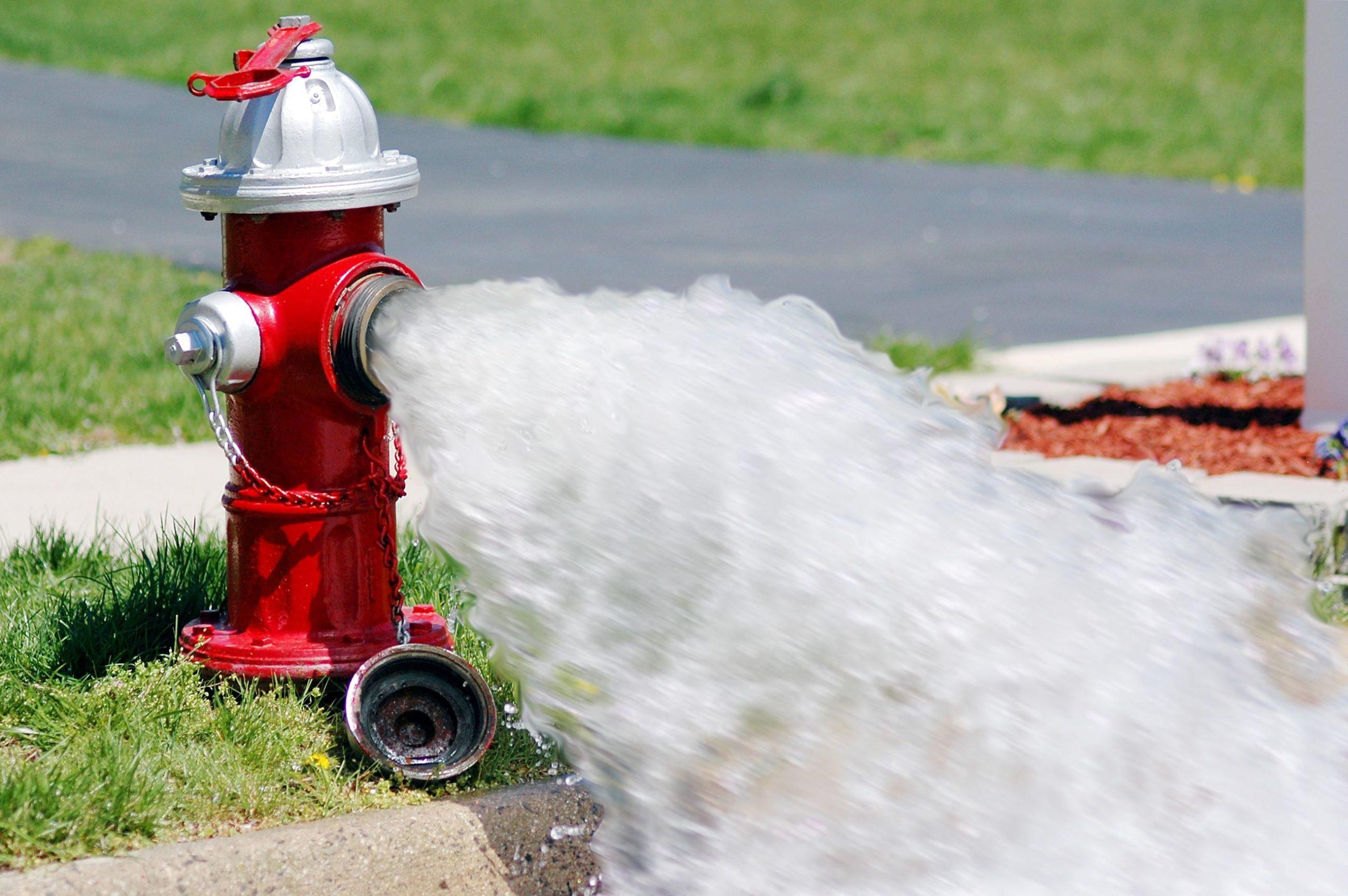 Fall Hydrant Flushing Program